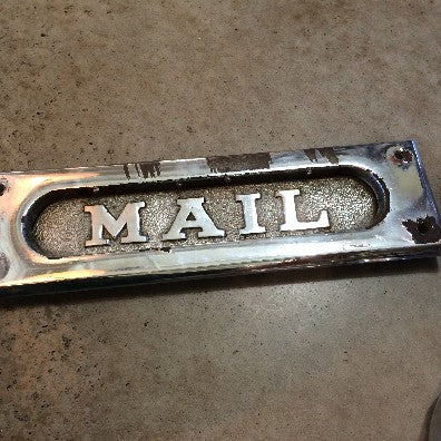 Chrome Mailbox Piece