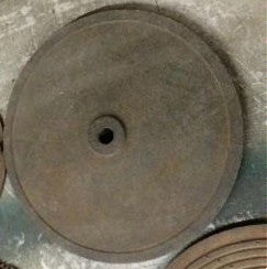 Steel Plate with Center Hole