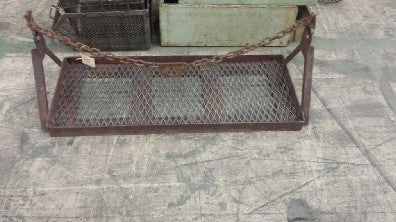 Industrial Iron Wall Mounted Shelf