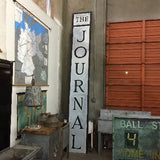 """The Journal"" Metal Sign"