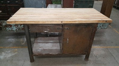 1 Drawer Repurposed Work Bench
