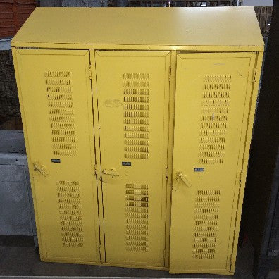 Vintage Yellow Lockers