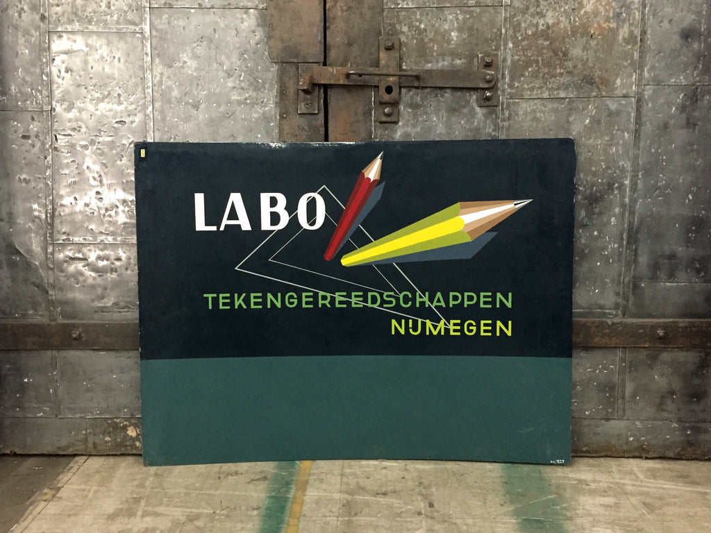 "Dutch Advertising Sign, ""Labo"""