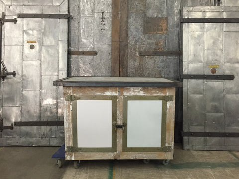 Re-purposed Barnwood Cabinet