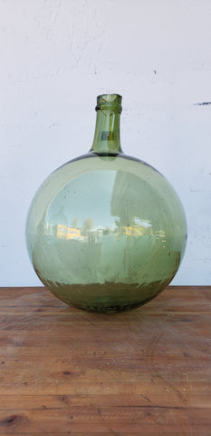Green French Wine Bottle