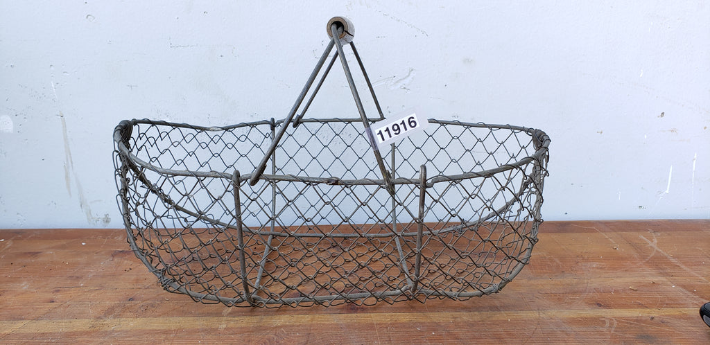 Small French Wire Gathering Basket