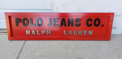 Polo Jeans Sign