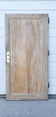 Solid Oak 5 Vertical Panel Single Door