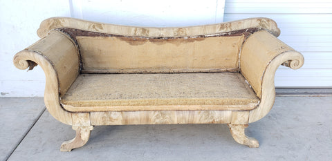 Bleached French Sofa