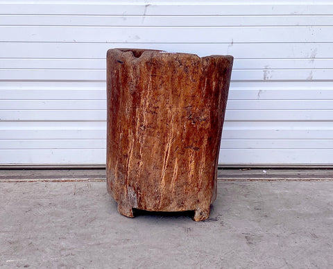 Antique French Wood Planter