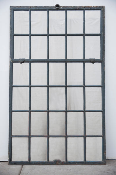 Industrial Iron Factory Window Mirror 30 Panes