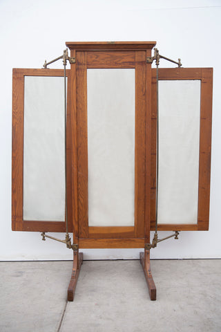Adjustable 3 Panel Store Mirror