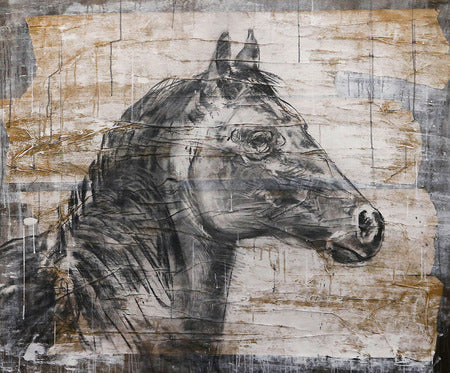 """Portrait of a Horse"" Painting/Art"