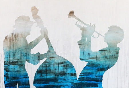 """Ragtime"" Jazz Band Painting"