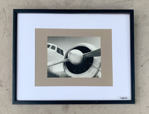 Vintage Plane Framed Photograph/Art