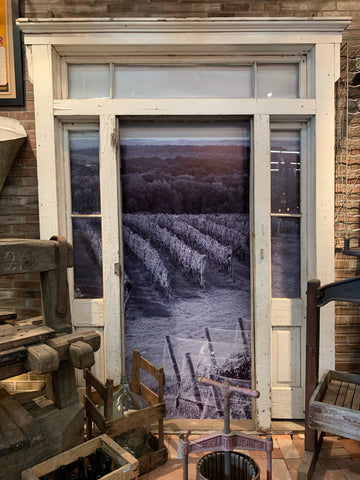 White Wood Door Frame with Transom and Sidelites