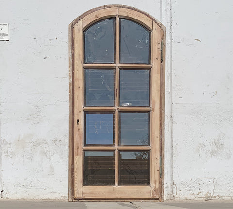 8 Pane Arched Window & Shutter Set