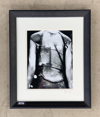 """Woman's Back"" Framed Photograph/Art"