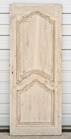 Arched 2 Panel Solid Oak Single Door