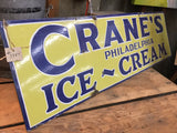 """Crane's Ice-Cream"" Philidelphia Sign (Restaurant)"
