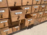 48 Drawer German Apothecary Store Cabinet