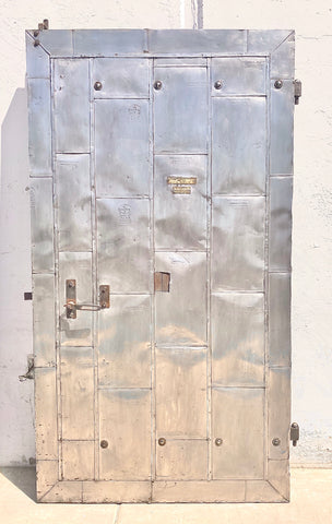 Industrial Metal Single Fire Door