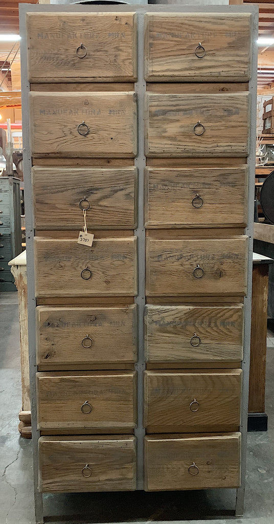 14 Drawer Wooden Cabinet