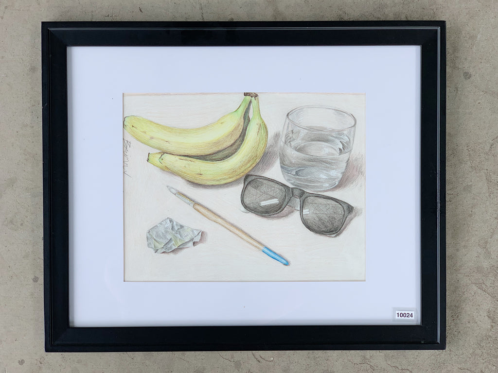Colored Pencil Drawing Still Life Antiquities Warehouse