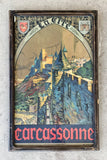 """Carcassonne"" Framed Travel Poster/Art"
