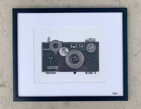 """Argus Film Camera"" Framed Photograph/Art"