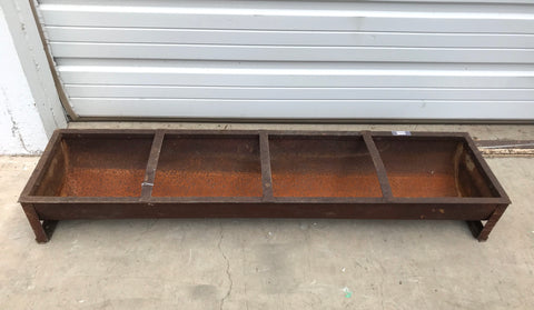 4 Section Iron Trough