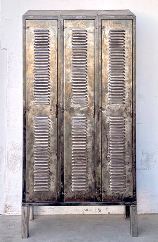 Stripped Louvered Locker