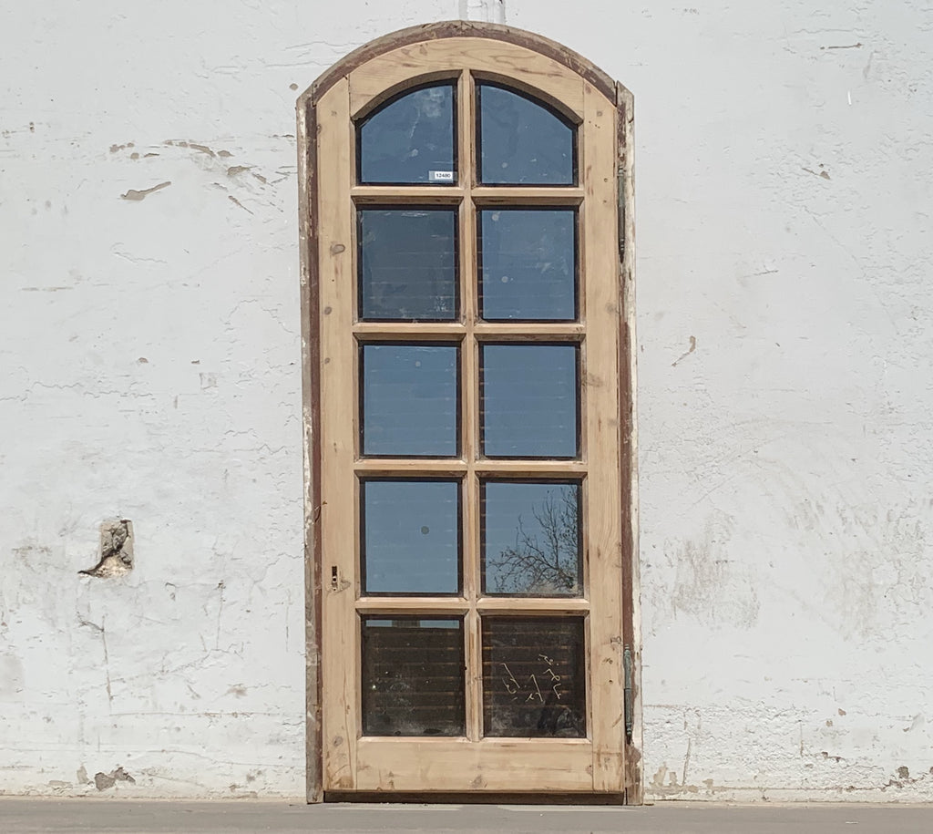 10 Pane Arched Window & Shutter Set