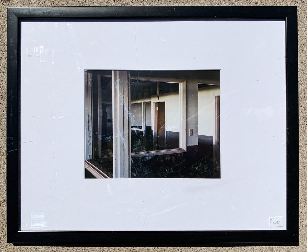 """Empty Warehouse"" Framed Photograph"