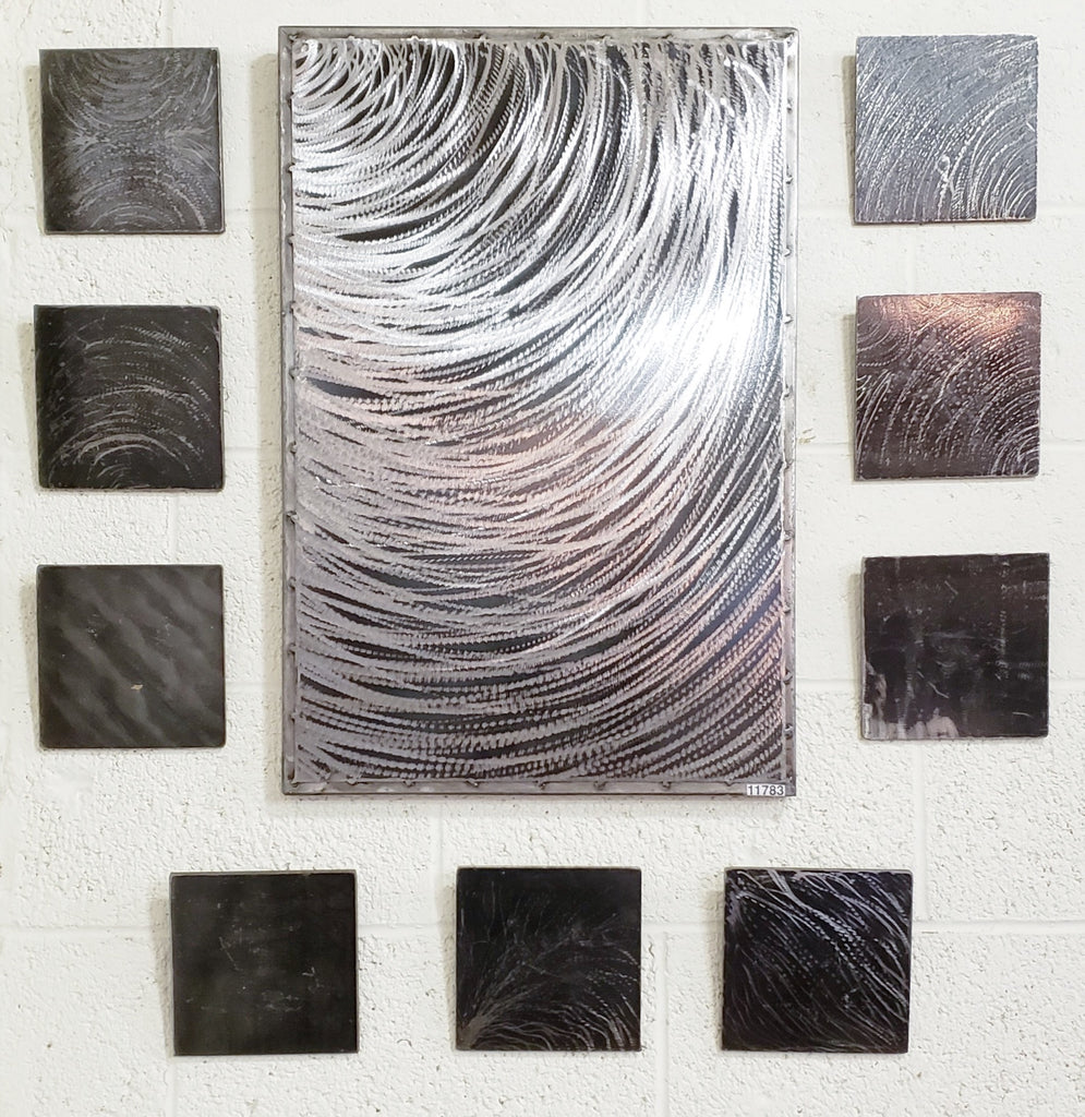 10 Pieces of Steel Wall Art