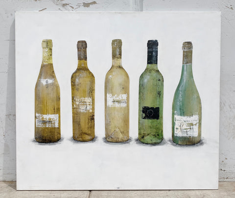 """5 Wines"" Painting/Art"
