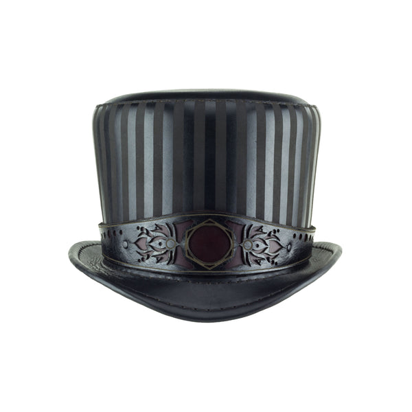 Baron Black Top Hat Geometry Band Front Subverse
