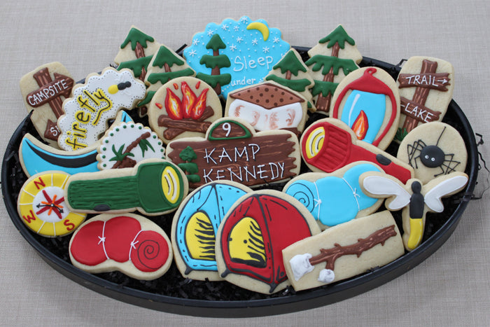 Boy Scout-Girl Scout-Camping Sugar Cookies TheIcedSugarCookie.com 4TheLoveOfCookies