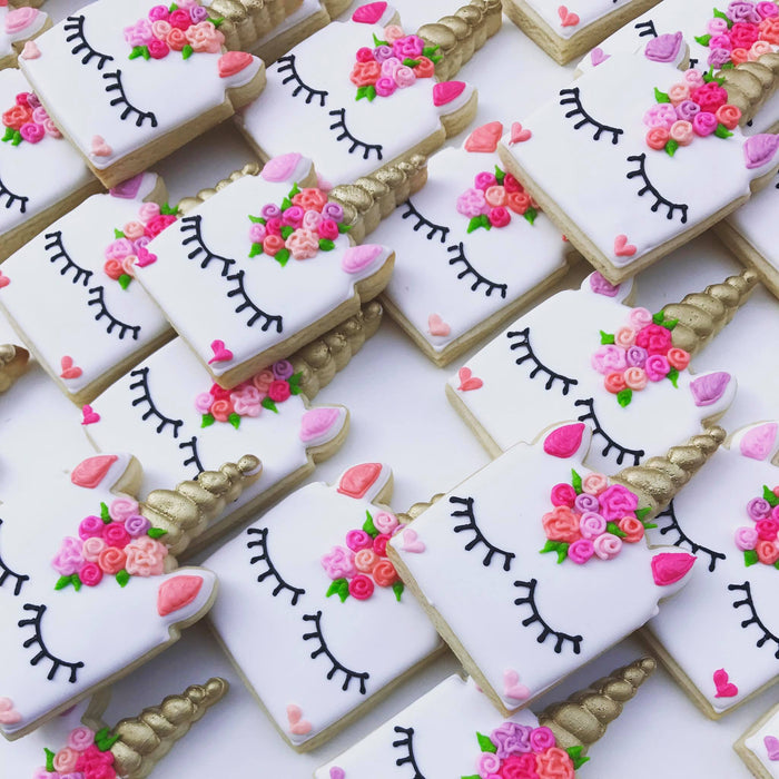 Sweet Magical Unicorn Birthday Party Sugar Cookies