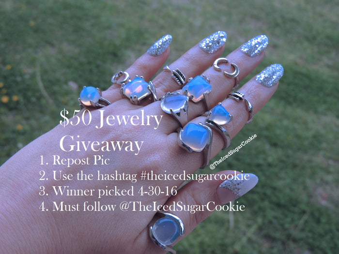 $50 Jewelry Giveaway