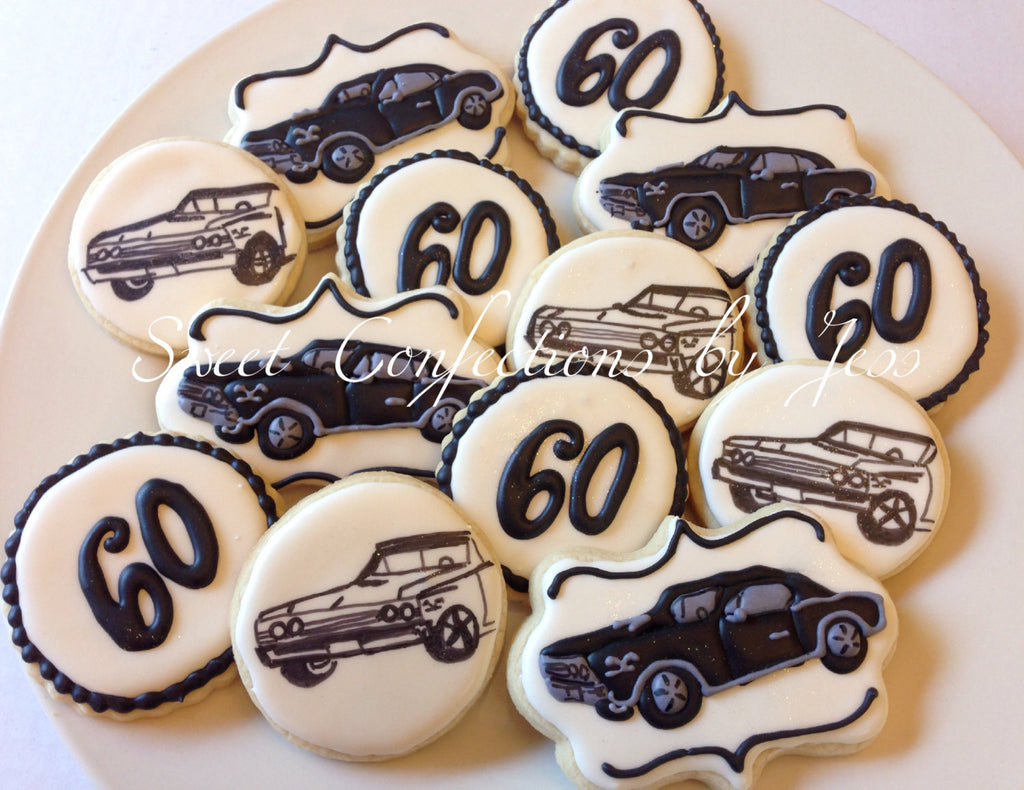 1967 Chevrolet Chevelle Birthday Party Cookies Chevy Cookies Classic C The Iced Sugar Cookie