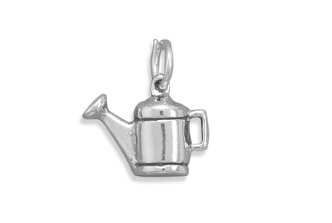 "Watering Can ""In The Garden"" Jewelry Charm By The Iced Sugar Cookie"