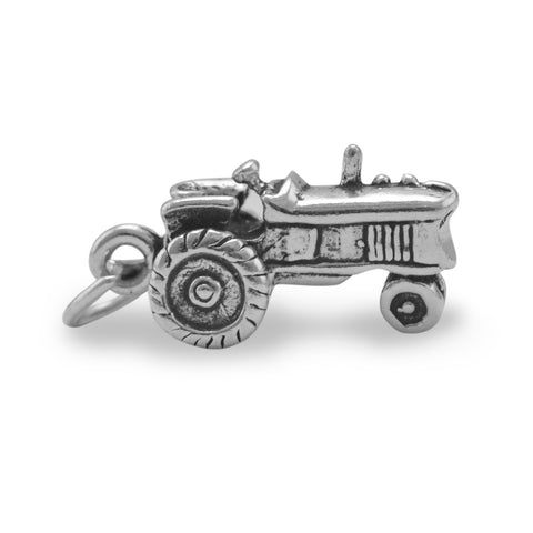 "Tractor ""In The Garden"" Jewelry Charm By The Iced Sugar Cookie"