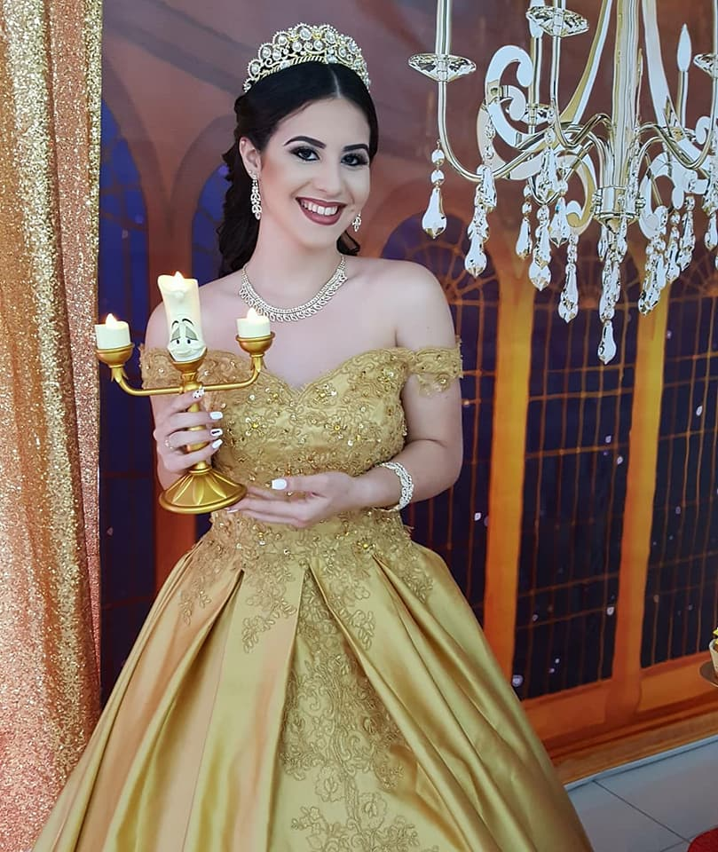 Beauty And The Beast Quinceanera Party The Iced Sugar Cookie