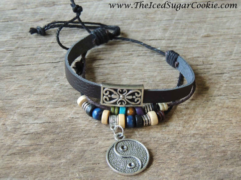 Faux Leather Bracelets by The Iced Sugar Cookie