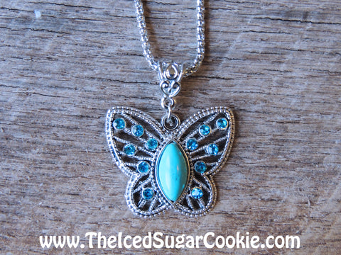 Butterfly Turquoise Jewelry Fashion Trendy Cool Bracelets Teens Women Girls The Iced Sugar Cookie