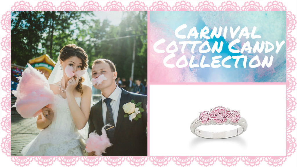 Carnival Cotton Candy Jewelry Collection By The Iced Sugar Cookie