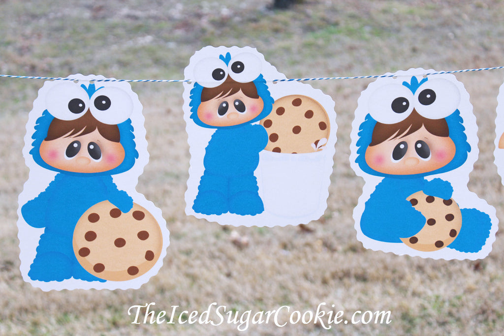 DIY Hanging Banner Ideas TheIcedSugarCookie.com
