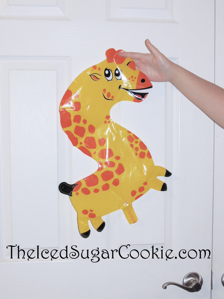 Giraffe Balloons Number Two Birthday Party Balloons for kids