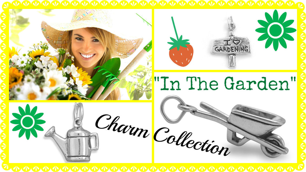 In The Garden Charm Collection Packe Of Seeds Charm Bracelet DIY by The Iced Sugar Cookie